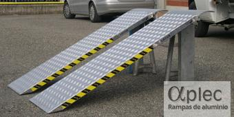 Plataformas sin bordes Longitud 2.500 mm  Altura de carga 750 mm