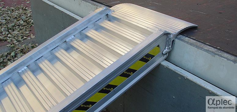 Rampas de aluminio usadas